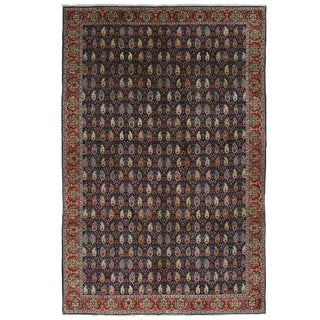 Hereke Carpet | 6'3 x 9'7 Paisley Carpet