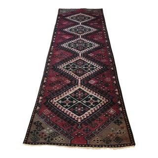 Antique Handmade Wool Karache Heriz Serapi Colores Rug - 2′7″ × 6′5″