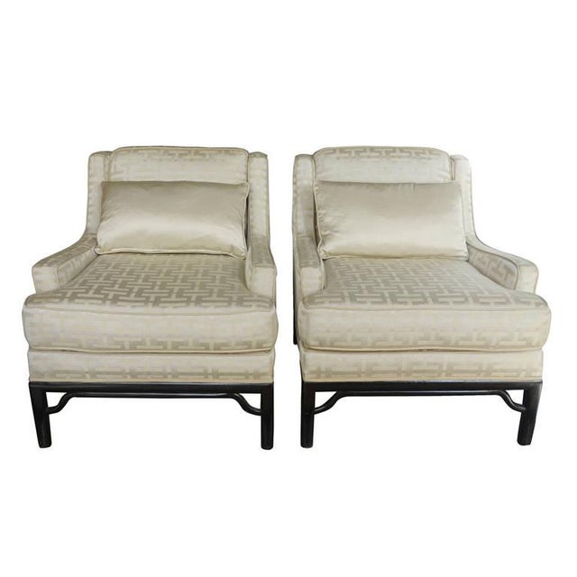 Image of Classic Mid-Century Chairs - A Pair