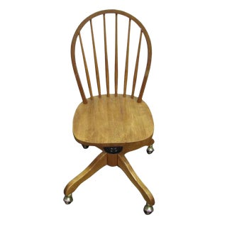 Windsor Chair on Casters