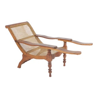 Antique Mahogany Plantation Chair
