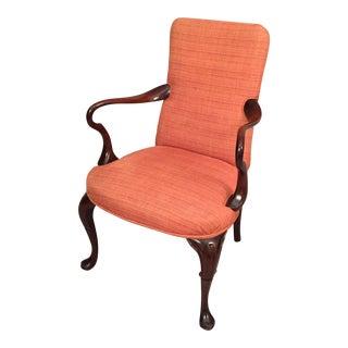 Ann Taylor Mid-Century Queen Ann Style Armchair