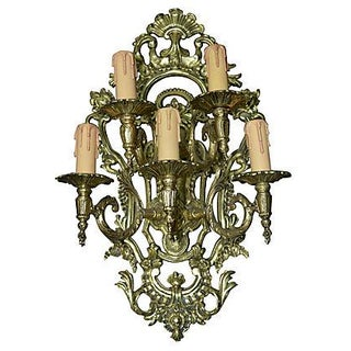 5-Light Medallion Sconce