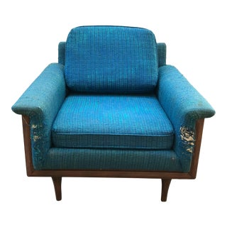 Blue American of Martinsville Chair