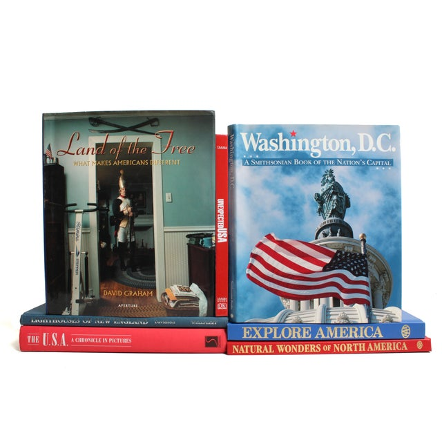 Americana Book Stack - Set of 7 - Image 1 of 2