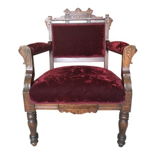 Victorian East Lake Chair