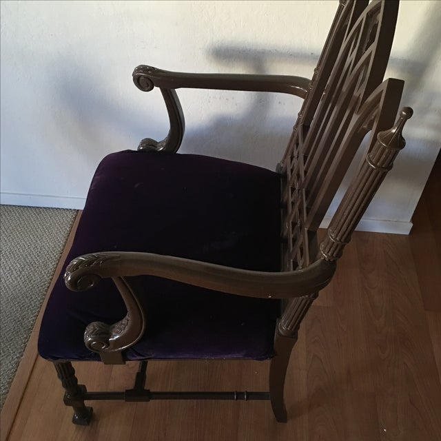Gothic Arm Chair - Image 3 of 8