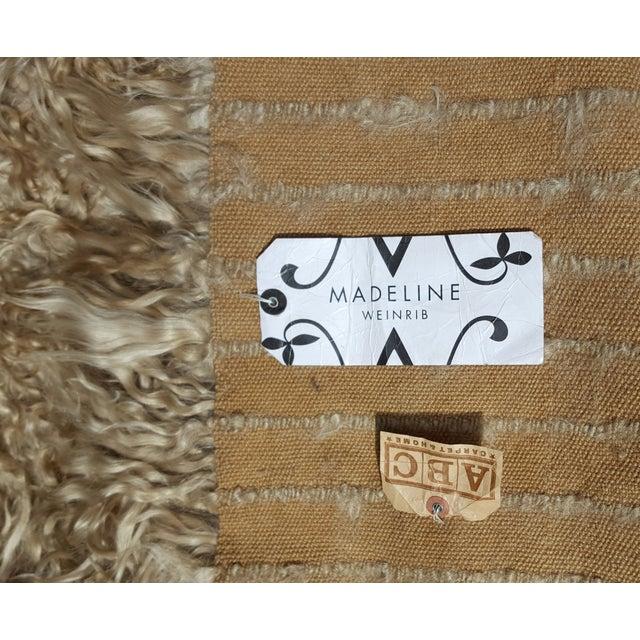 """Madeline Weinrib Mongolian Wool Rug - 8' x 10"""" - Image 4 of 5"""