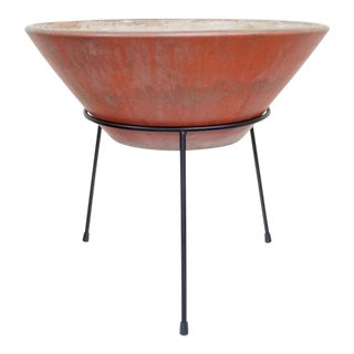 LaGardo Tackett Architectural Pottery 'Wok' Planter