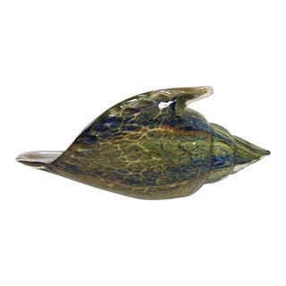 Murano Art Glass Conch Shell