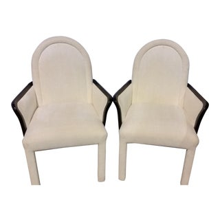 Maison Jansen Style Upholstered Chairs- A Pair