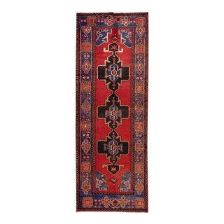 "Apadana - Vintage Persian Rug, 3'7"" x 10'"