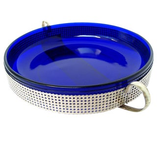 Cobalt Glass Bowl