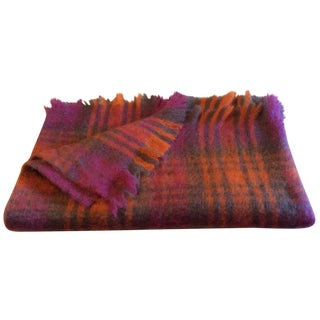 Avoca Mohair Irish Blanket