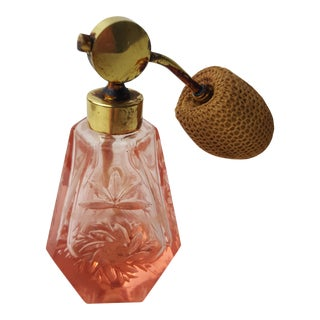 Pink Atomizer Perfume Bottle