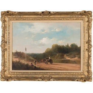 19th-C. Sussex Landscape by E. J. Niemann