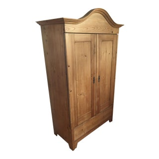 Antique Traditional Pine Armoire