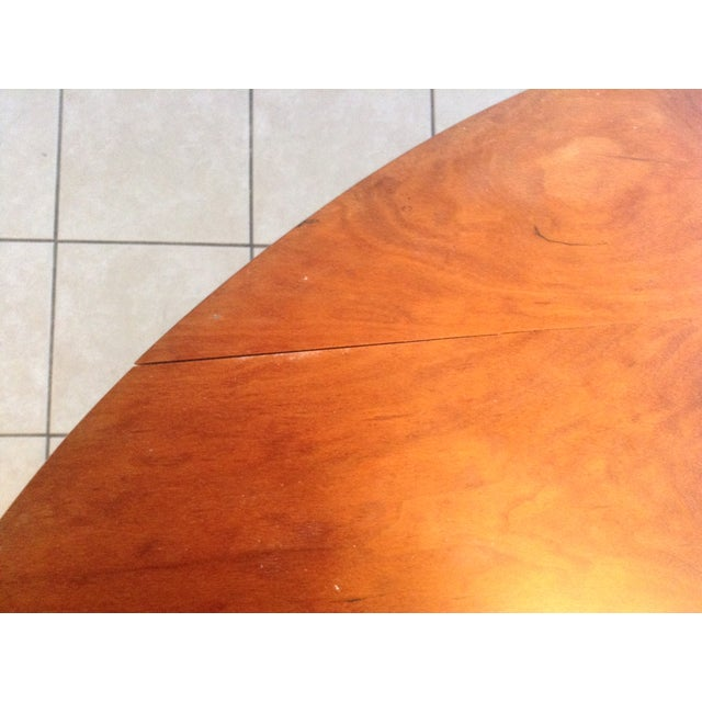 Thos Moser Round Dining Table - Image 9 of 10