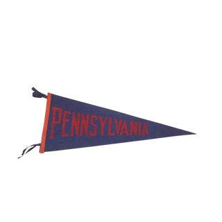 Extra Large Pennsylvania Felt Flag