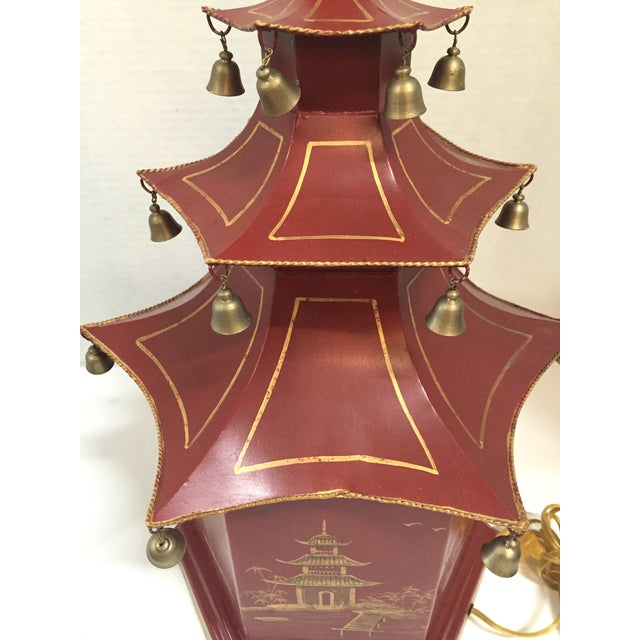 Chinoiserie Pagoda Table Lamp - Image 8 of 8