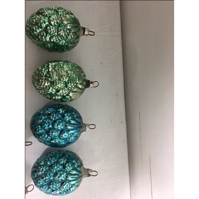 Vintage Christmas Pine Cone Ornaments - Set of 12 - Image 5 of 7