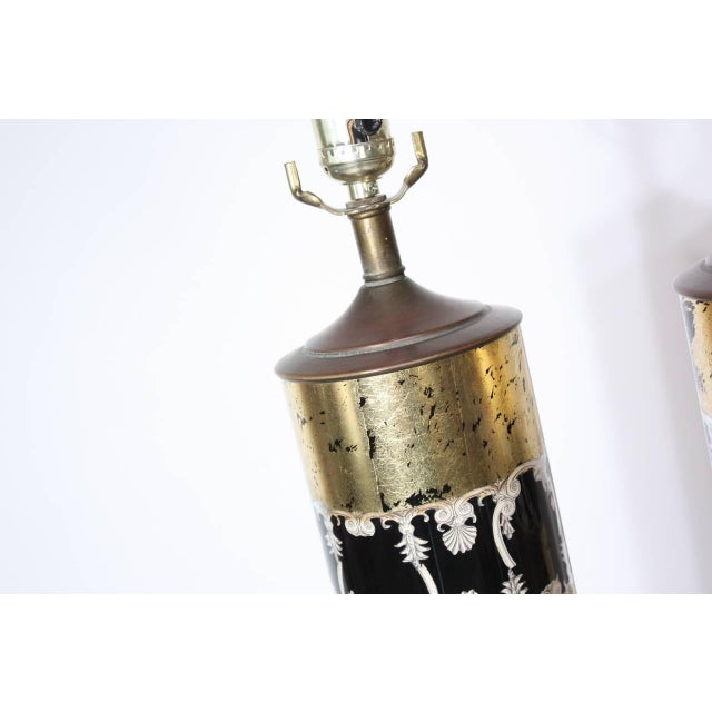 Pair of Piero Fornasetti Table Lamps - Image 5 of 8