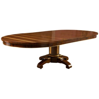 19th Century Russian Style Rosewood Dining Table