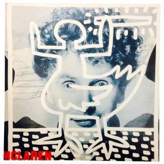 Vintage 1983 Keith Haring Vinyl Cover Art