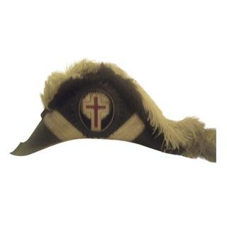 Antique Knights of Columbus Ceremonial Hat