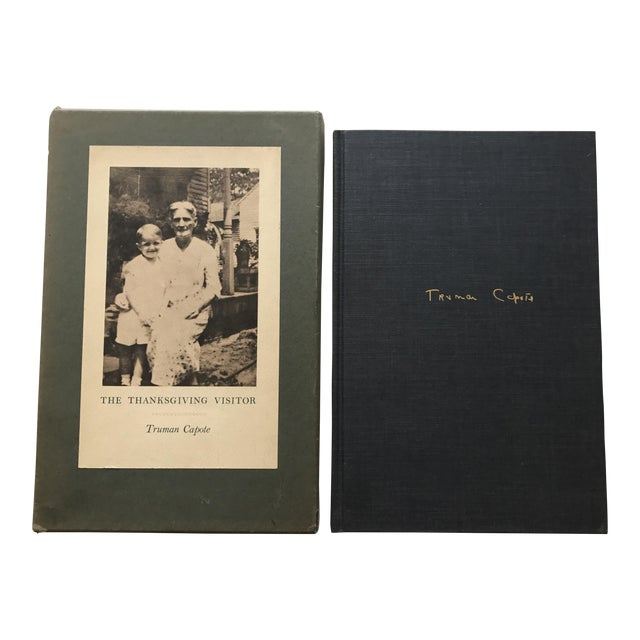"""Truman Capote """"The Thanksgiving Visitor"""" 1968 Book - Image 1 of 3"""