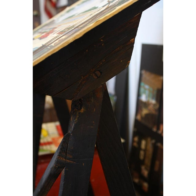 Black Wood Easel Display Stand - Image 4 of 4