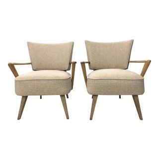 Mid-Century Modern Heywood Wakefield Lounge Chairs - A Pair