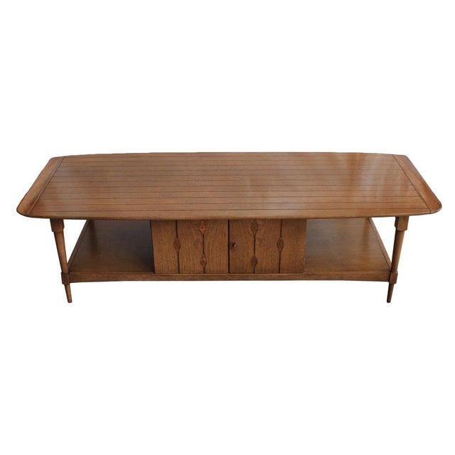 Mid-Century Walnut 'Surfboard' Coffee Table - Image 2 of 9