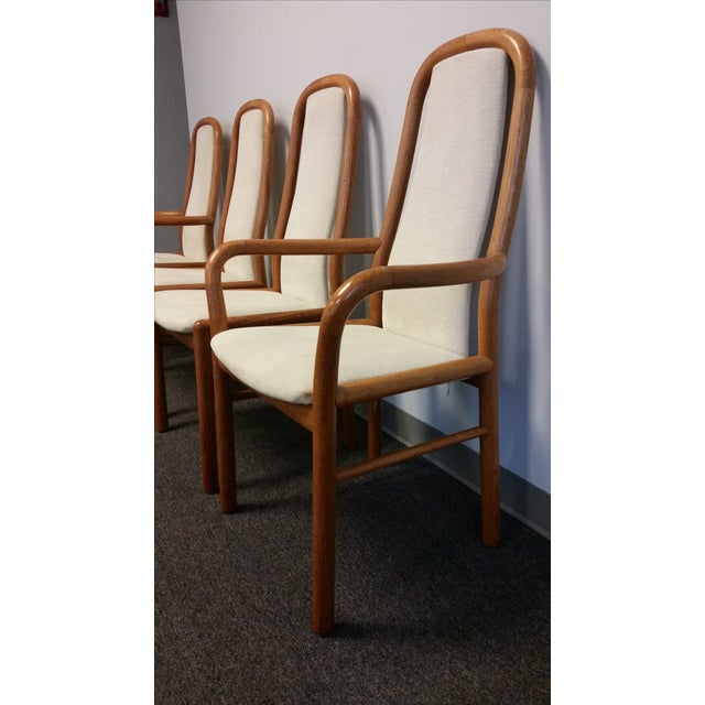 Boltinge Danish Modern Dining Chairs - Set of 4 - Image 4 of 8