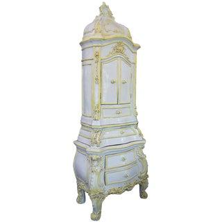 19th Century French Glazed Ceramic Stove