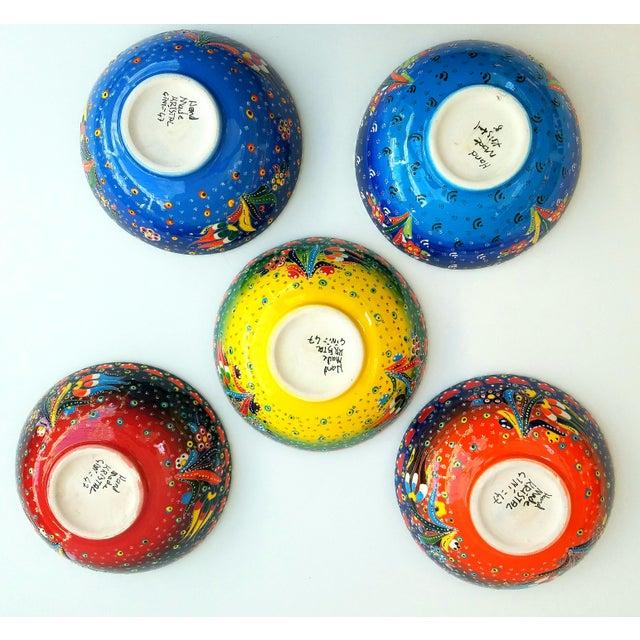 Turkish Anatolian Bowls - Set of 5 - Image 5 of 6