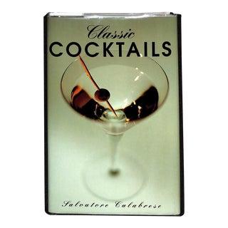 Classic Cocktails Book