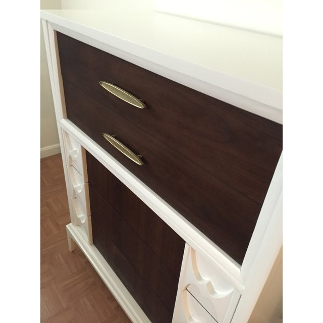 Reworked Mid Century Modern Tall Dresser - Image 4 of 6