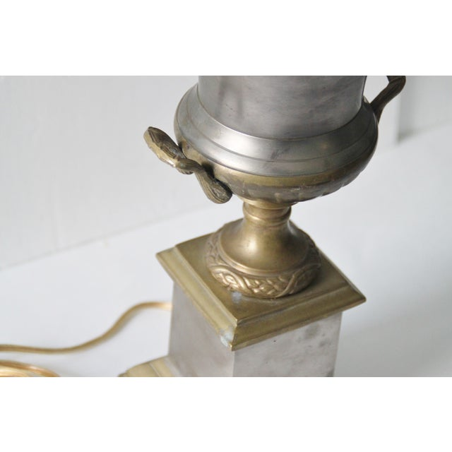 Neoclassical Trophy Urn Lamp - Image 6 of 6