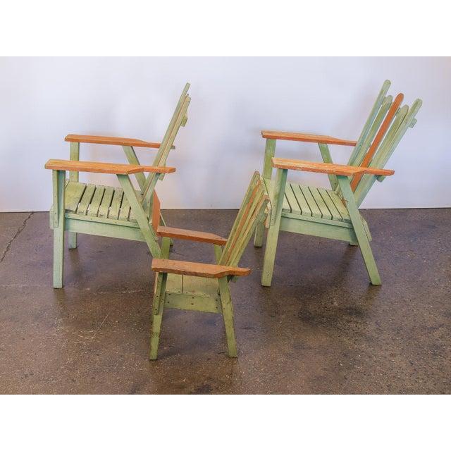 Family Set of Adirondack Chairs - Image 6 of 11