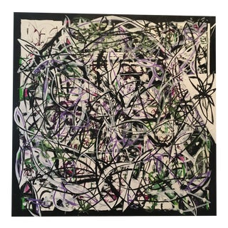 """Patterned Chaos"" Original Art by JJ Justice"