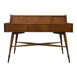 Vintage Hooker Mainline Mid-Century Modern Desk