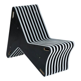 Modern Plywood Skeleton Chair