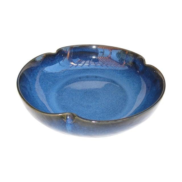 Indigo Pottery Catchall Bowl - Image 1 of 7