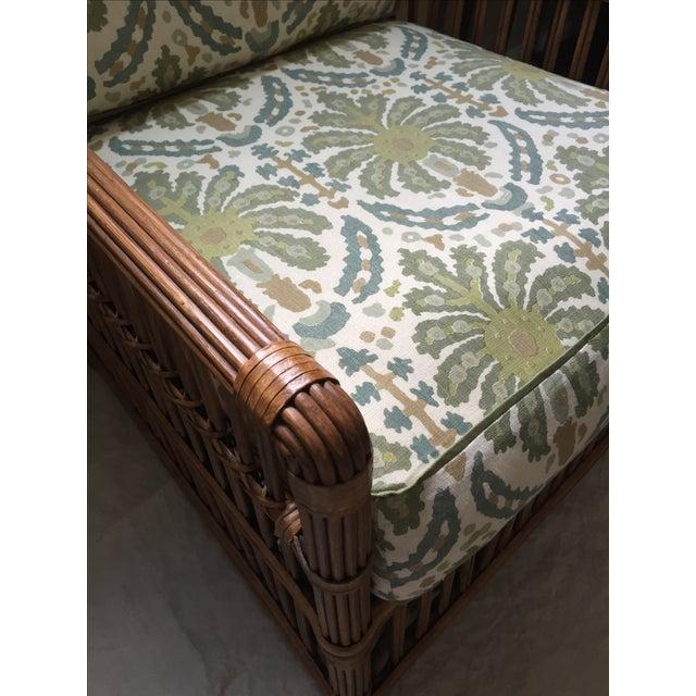 Modern Rattan Lounge Chair - Image 7 of 8