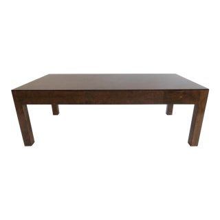 Vintage Burlwood Coffee Table