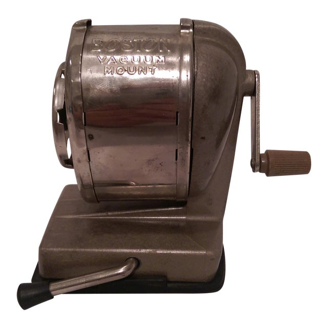 Vintage Boston Vacuum Mount Pencil Sharpener - Image 1 of 10