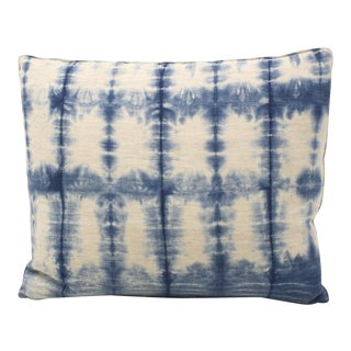 Hand-Dyed Indigo Pillow