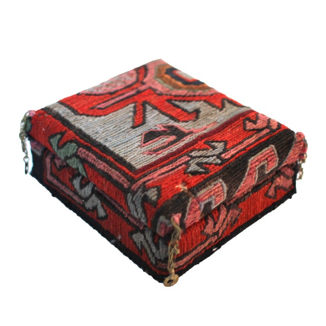 Image of Antique Kilim Covered Box