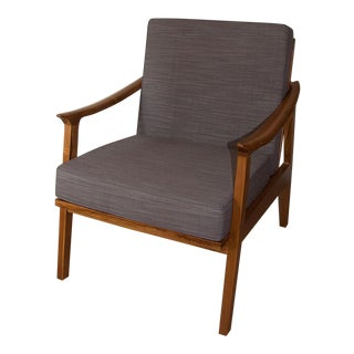 Scandi Java Mid-Century Style Teak Lounge Chair